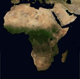 Africa Satellite Large